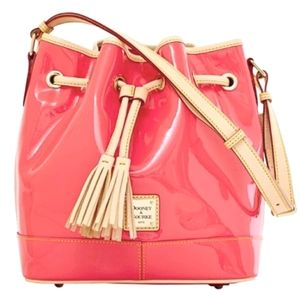 Dooney & Bourke Bubblegum Patent Leather Bag